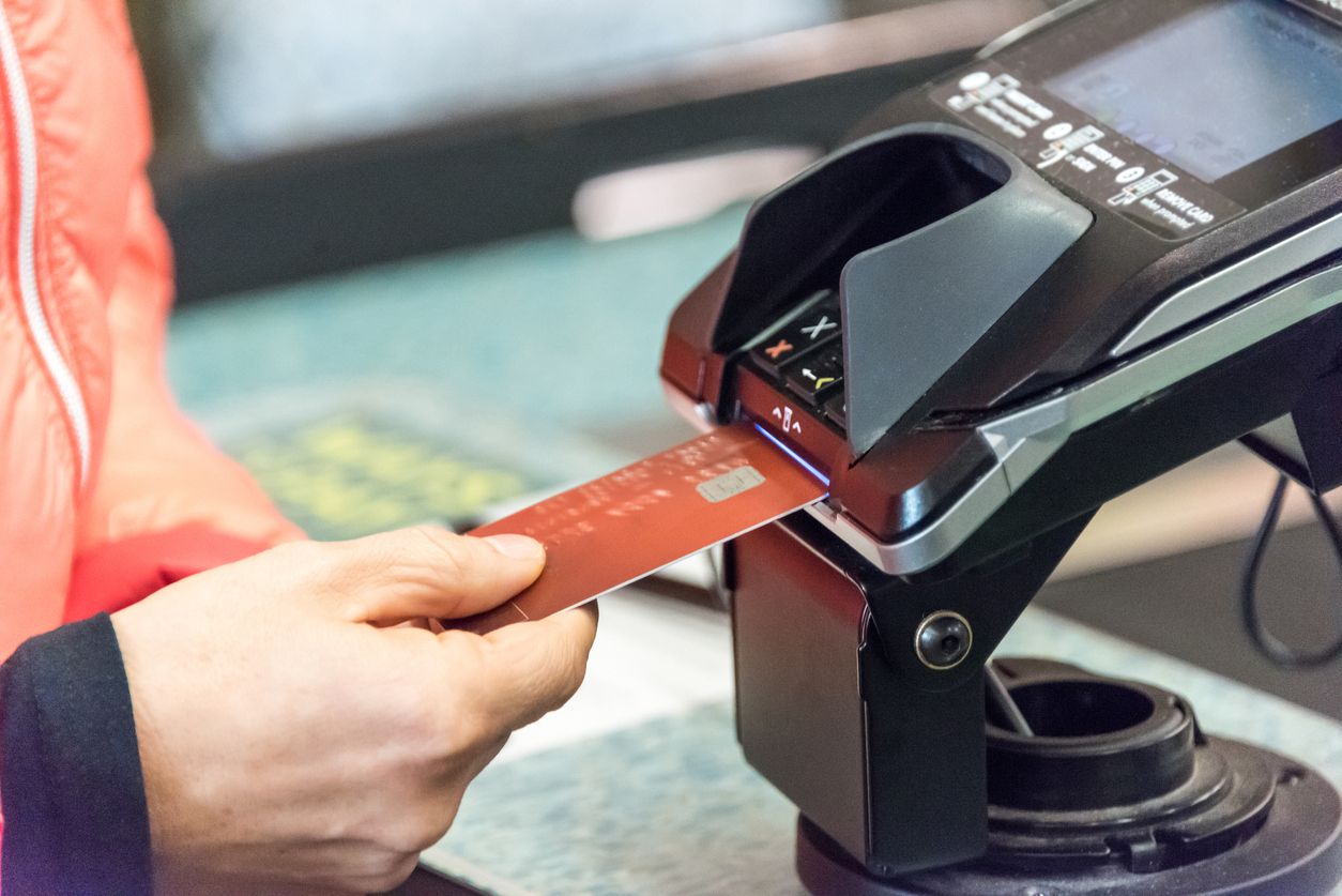 Credit Card Transaction Using the New Security Electronic Chip Technology EMV