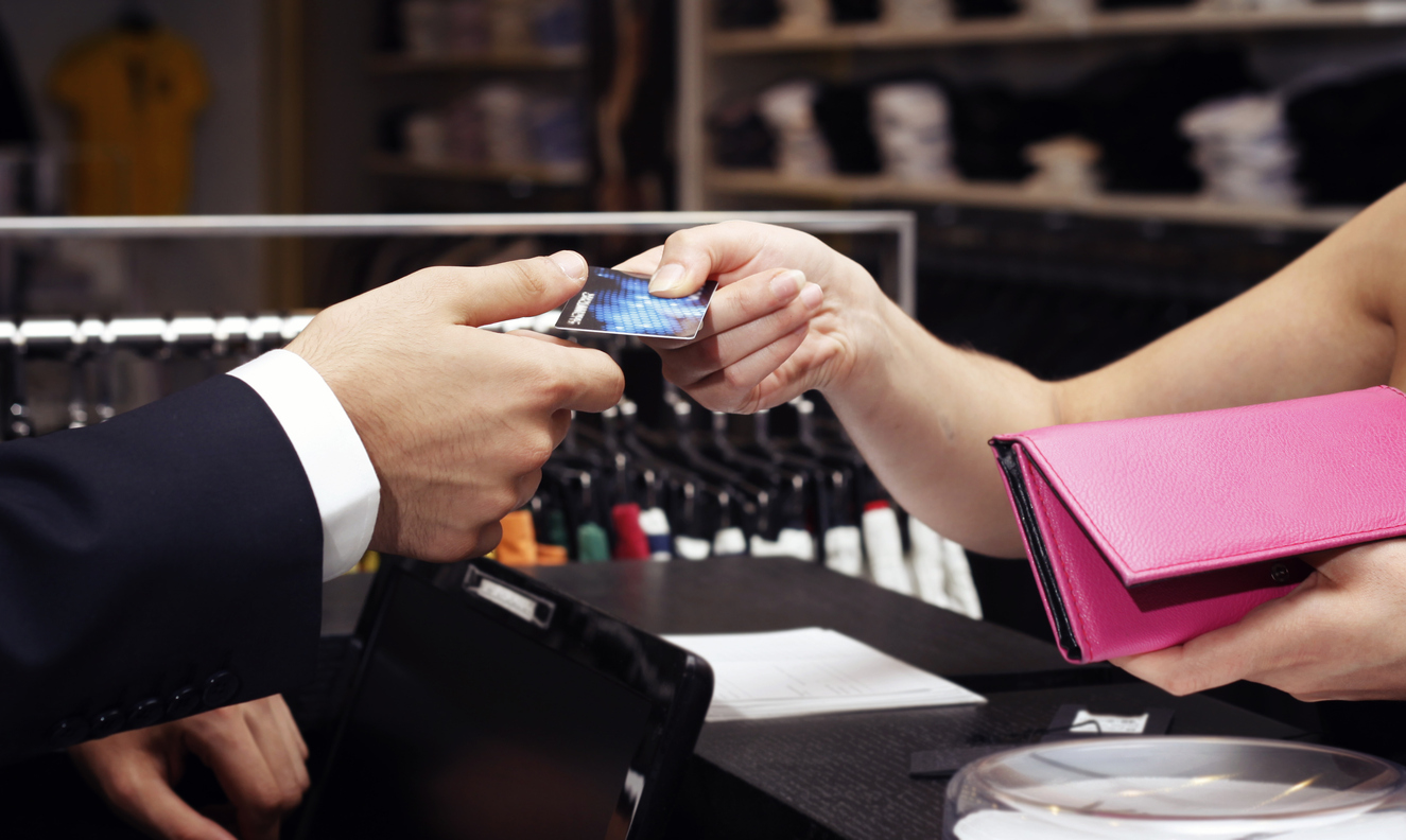 Paying by credit card. lowest price merchant services, payment processor concept